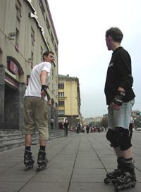 Улицы Минска (пл. Я.Коласа)